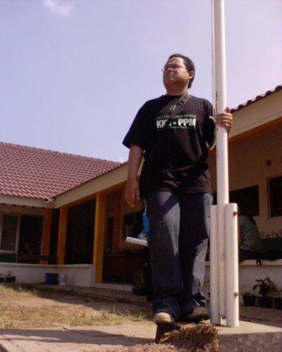 Sang Penjaga Tiang Bendera