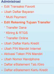 Di Internet Banking Bank Mandiri Ternyata Tidak Bisa Mengganti Alamat Email The Labana Post